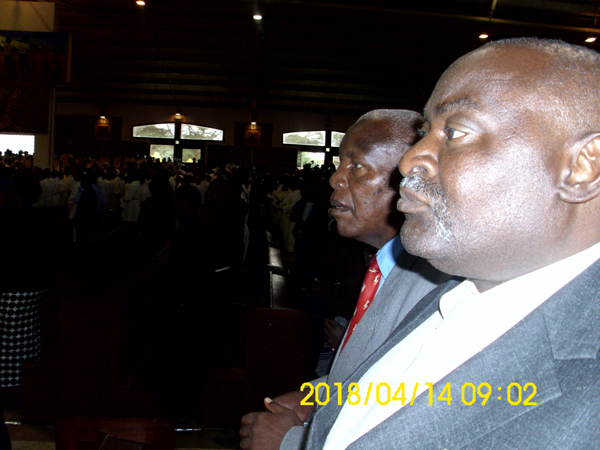 Chairman at mass